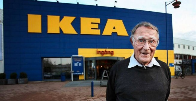 Ikea Founder Ingvar Kamprad 1