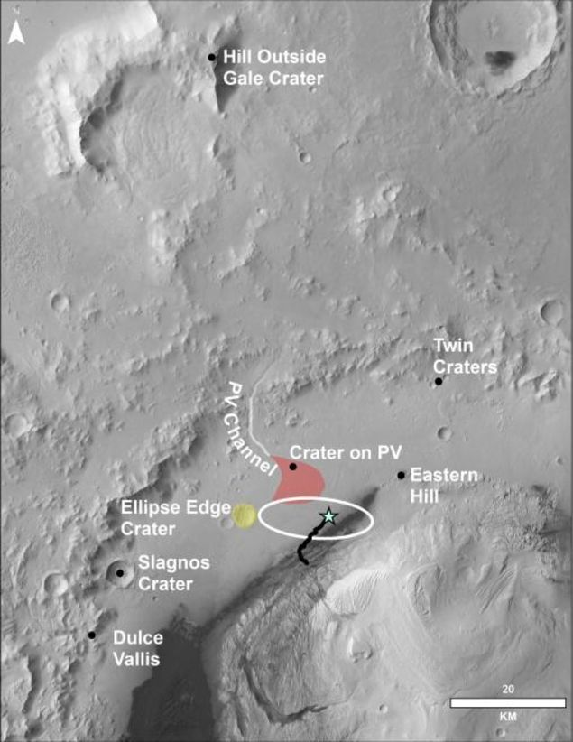 Mars Birds Eye View Image