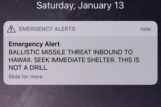 Missile Hawaii