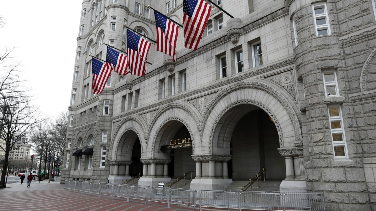 Trump's Hotel Rating On Yelp Takes A Hit After 'Shithole' Remark