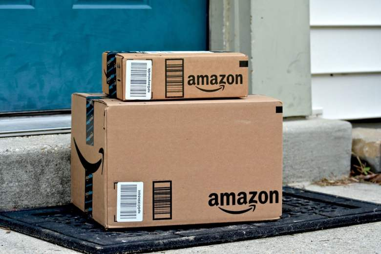 Amazon Delivery Service Package