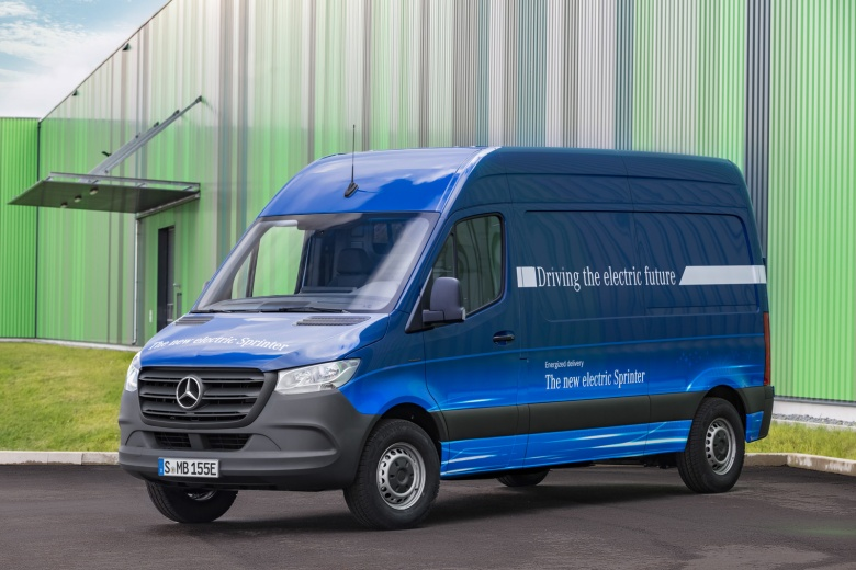 Mercedes Electric Sprinter Van