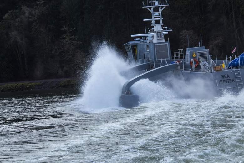 Sea Hunter Drone Ship 1