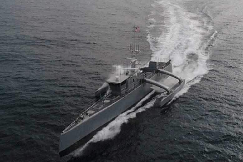 Sea Hunter Drone Ship